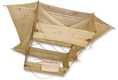 L'Aéro Photo cerf-volant 1903